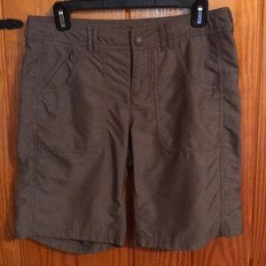 EUC north face hiking shorts